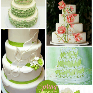 Spring Wedding Cakes – Ideas and Inspiration