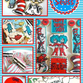 Dr Seuss Party Ideas – Cookies, Favors