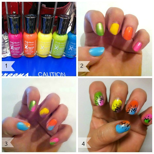 Street Style Pop Art Nails