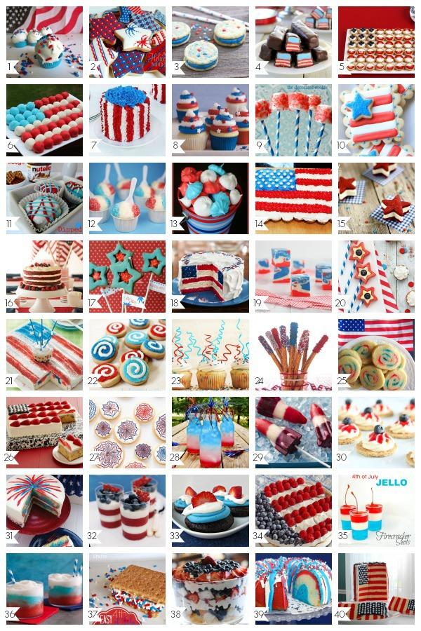 40 Amazing 4th of July Desserts