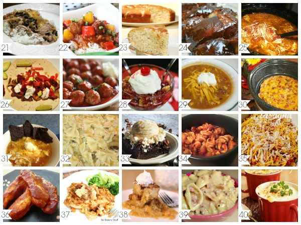 60 Best Crock Pot Recipes A Helicopter Mom