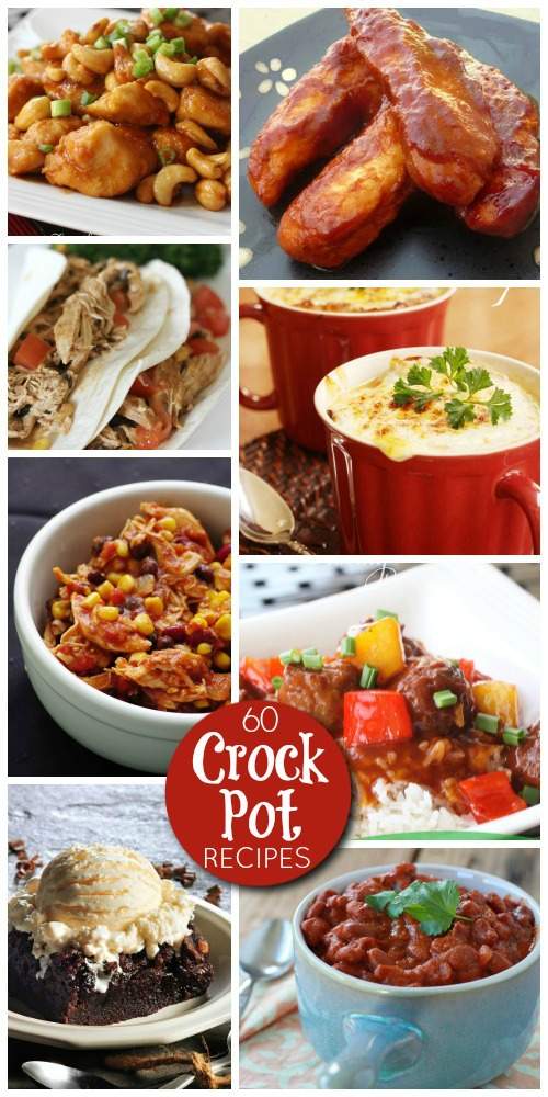 60 Best Crock Pot Recipes and Slow Cooker Recipes
