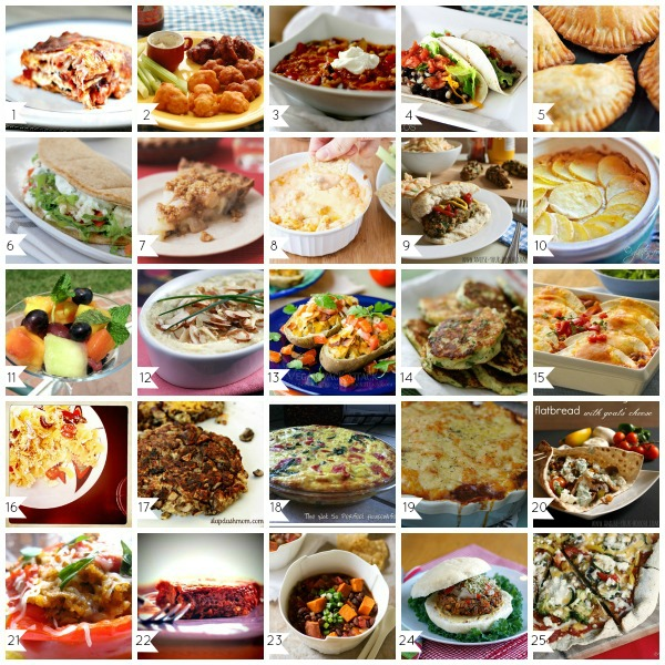 50 Best Vegetarian Recipes from Apps to Entrees