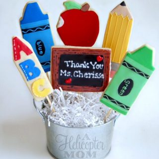 Teacher Appreciation or Back to School Cookie Bouquet