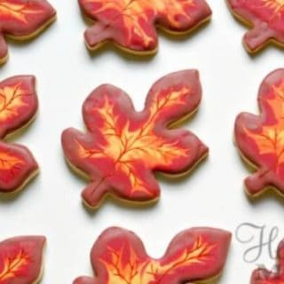 Autumn Cookies – Autumn Leaves Cookies Recipe