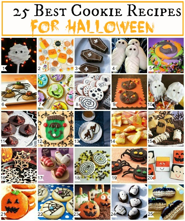 25 Best Halloween Cookies