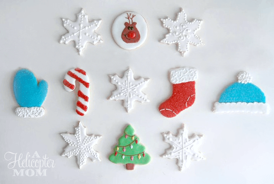 Christmas Cookie Cutter Cookies Recipe on A Helicopter Mom