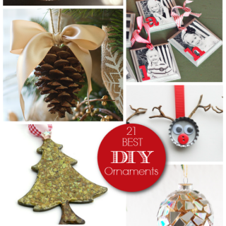 Family DIY Ornaments