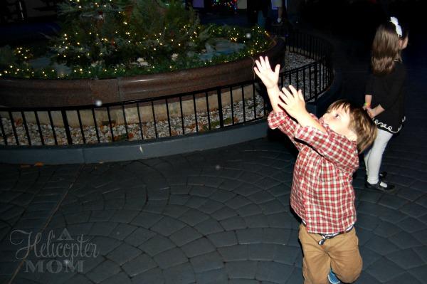 Busch Gardens Christmas Town Snow