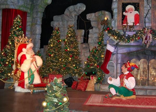 Busch Gardens Christmas Town Santa