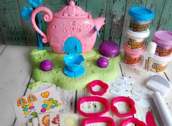 RoseArt Magic Fun Dough Fairy Tea Party