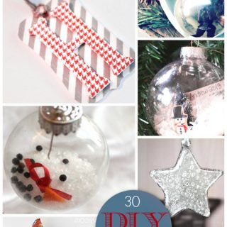 30 Gorgeous DIY Ornaments