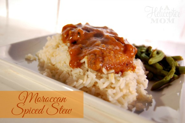 Moroccan Spiced Stew #CampbellsSkilledSaucers