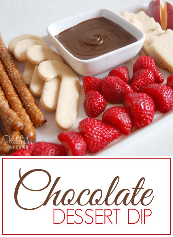 Chocolate Dessert Dip Recipe for Parties