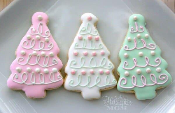 Iced Christmas Cookies