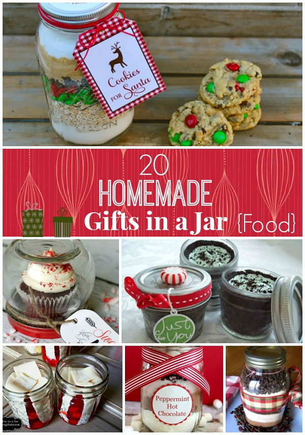 Gifts in a jar christmas ideas