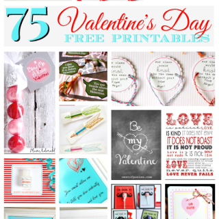 75 Best Free Valentine Printables – Valentine's Day Fun