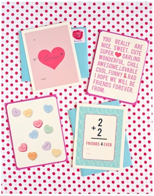 Class Valentine's Day Cards
