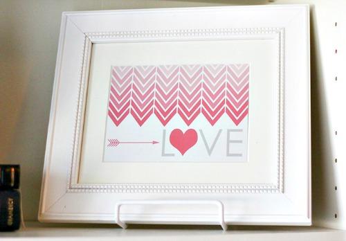 LOVE Printable