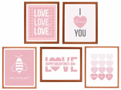 Valentine's Day Prints