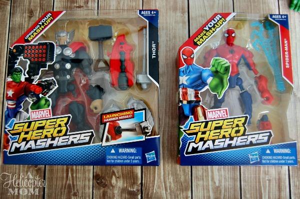 Marvel Super Hero Mashers Thor and Spiderman