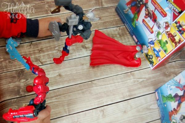 Thor and Spiderman Marvel Mashers