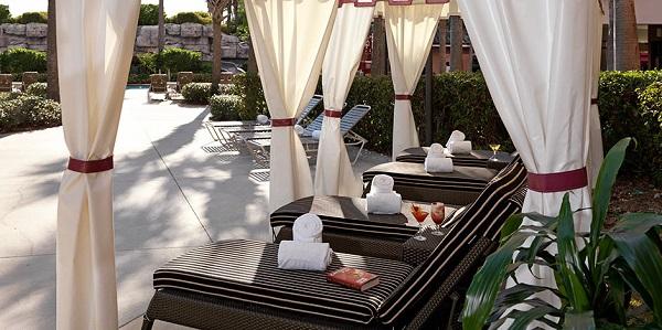 Poolside Cabanas Caribe Royale