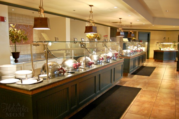Caribe Royale Breakfast Buffet at The Tropicale