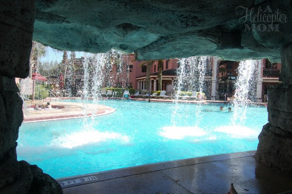 View from below the Waterfall - Caribe Royale