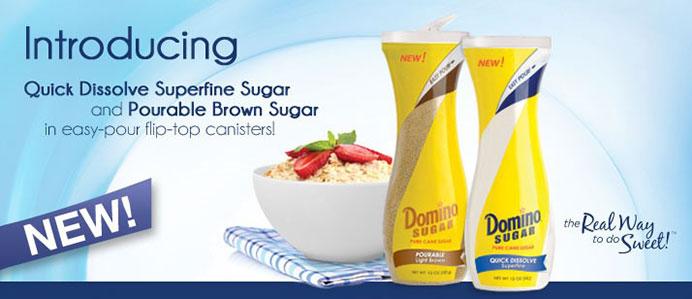 Domino Pourable Sugars