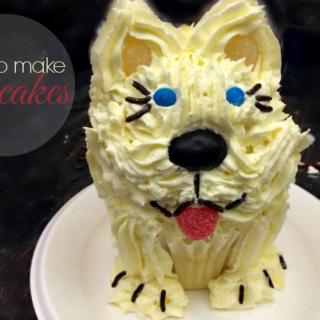 How to Make Puppy Dog Cupcakes – Pupcake Tutorial