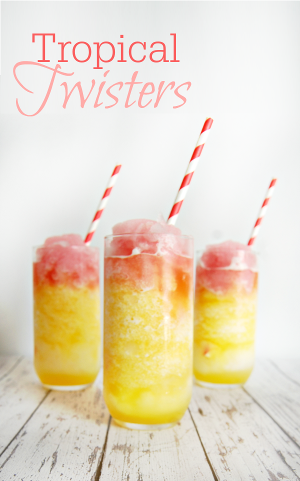 Tropical Twisters Drink #Recipe #Cocktail #Mocktail