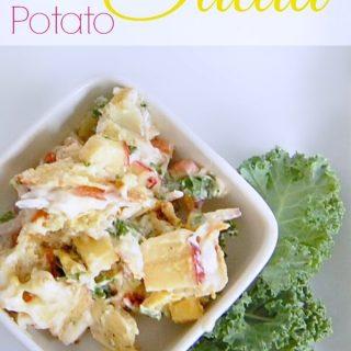 Amazing Kale & Apple Potato Salad Recipe