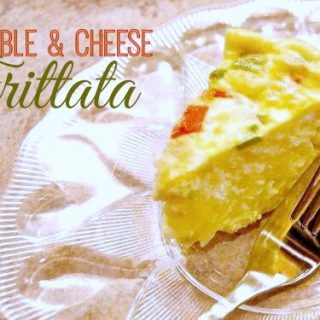 Easy Vegetable and Cheese Frittata Recipe