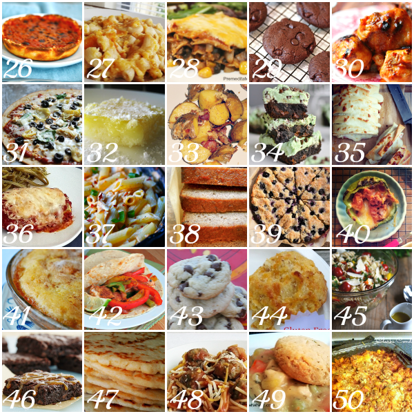 50 Best Gluten-Free Recipes 26-50 #GlutenFree #Recipes