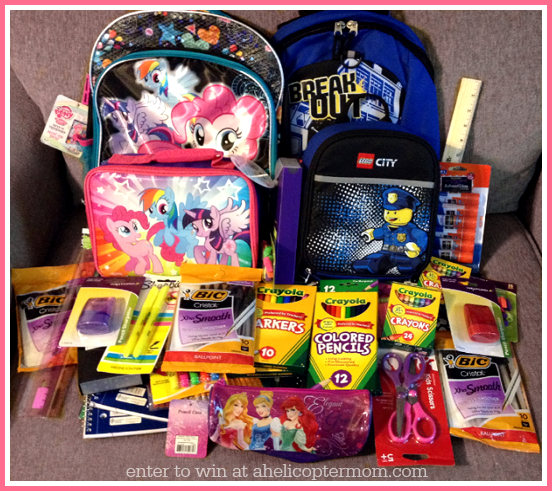 Back to School Giveaway - 3 Winners 3 Prizes