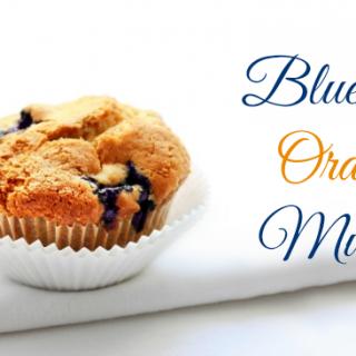 Blueberry Orange Muffins #Recipe