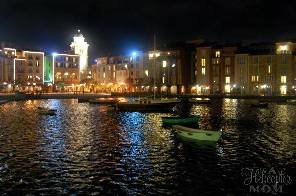 Portofino Bay Hotel at Night - Universal Orlando