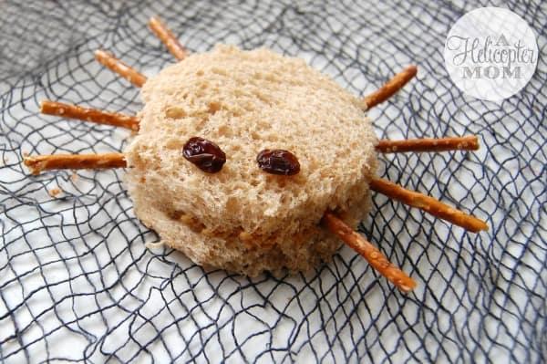 Spider Sandwich Fun