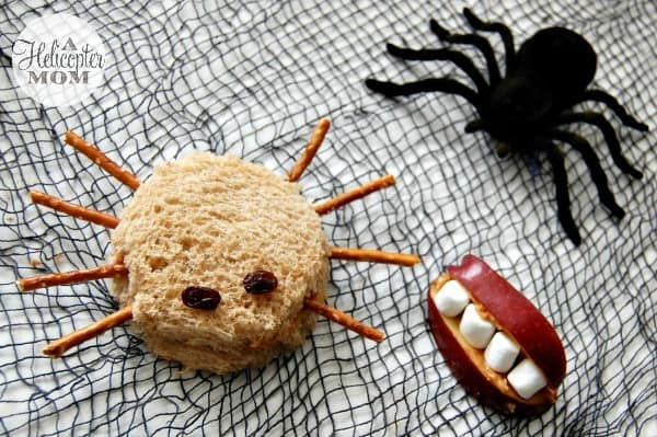 Spider Sandwich & Snack Mouth