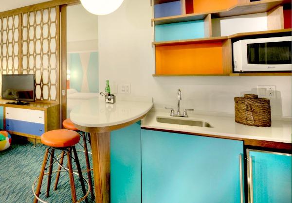 Cabana Bay Resort Family Suite Kitchenette