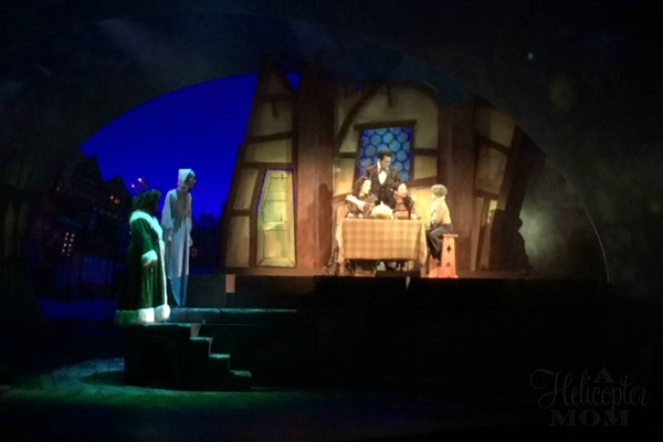 Scrooge No More at Christmas Town Busch Gardens