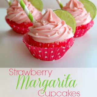 Strawberry Margarita Cupcake Recipe