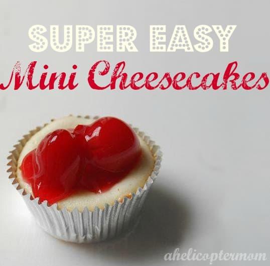 Super Easy Mini Cheesecakes Recipe