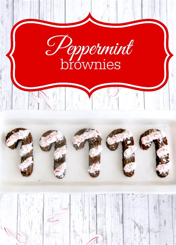 Easy Peppermint Brownies