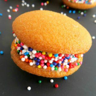 Easy Rainbow Banilla Bites Recipe