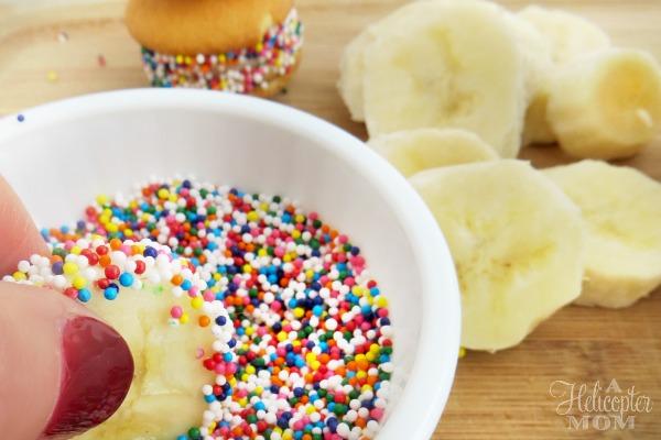 Easy Rainbow Banilla Bites - Recipe