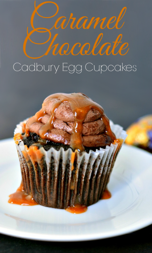 Cadbury Caramel Chocolate Easy Cupcake Recipe - AMAZING!