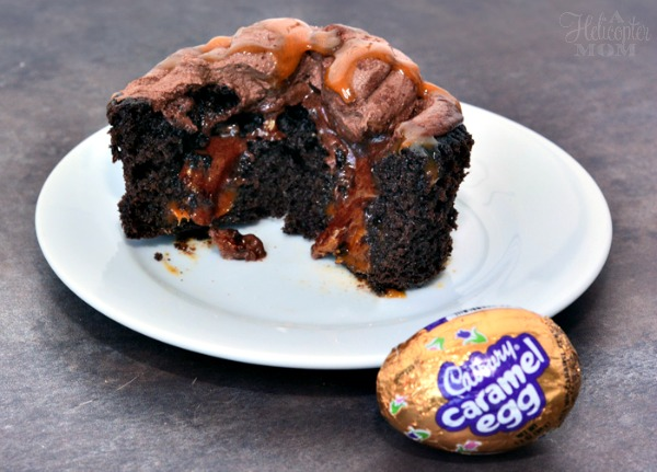 Cadbury Caramel Egg Easy Cupcake Recipe