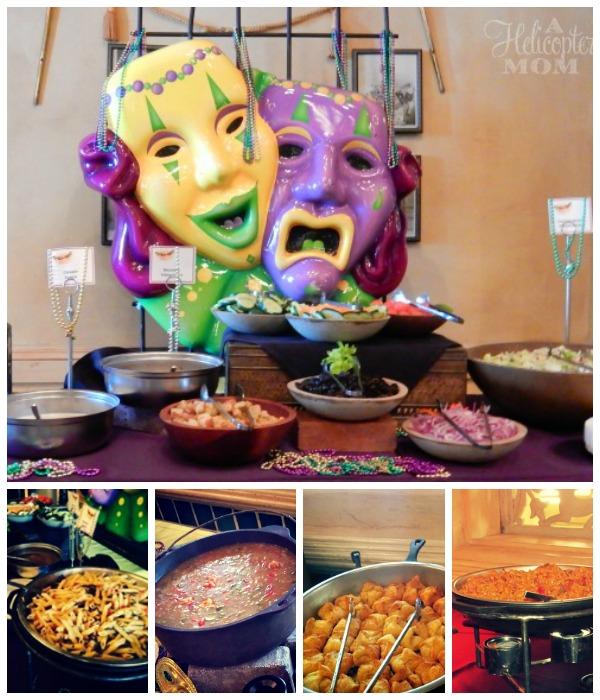 Cajun Food at Mardi Gras